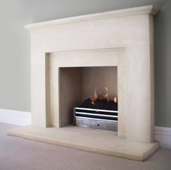 Elite Binton natural stone fireplace
