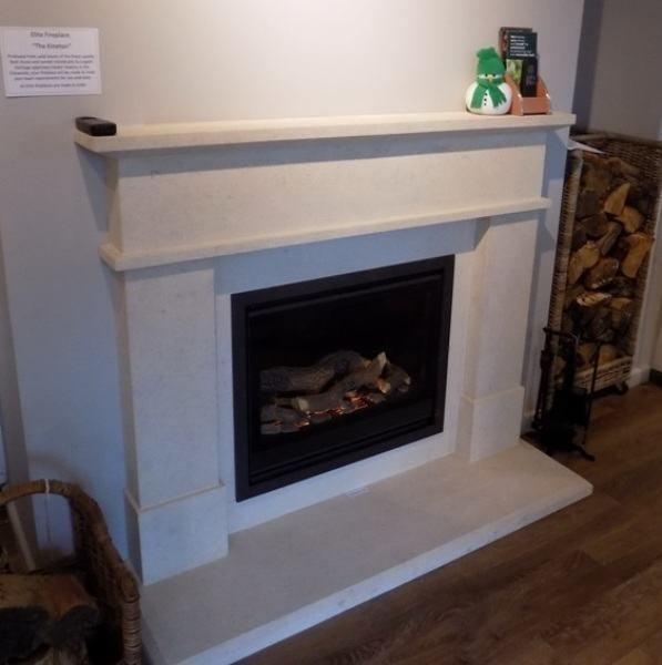 Elite Kineton natural stone fireplace