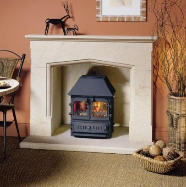 Elite Packwood natural stone fireplace