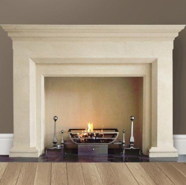 Elite Stratford natural stone fireplace