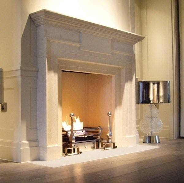 Stone and Wood Fireplaces