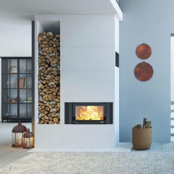 Nordpeis Q23 & Q34 stove with Panama surround