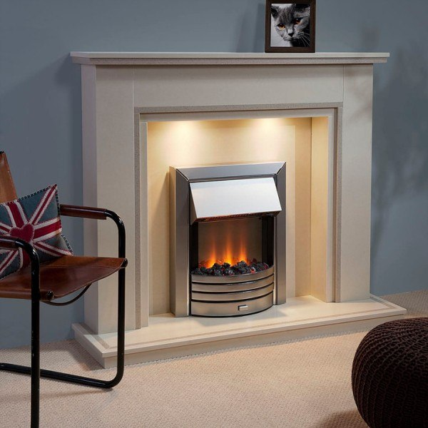 Gatsby Natural Stone Fireplace Hagley Stoves Amp Fireplaces
