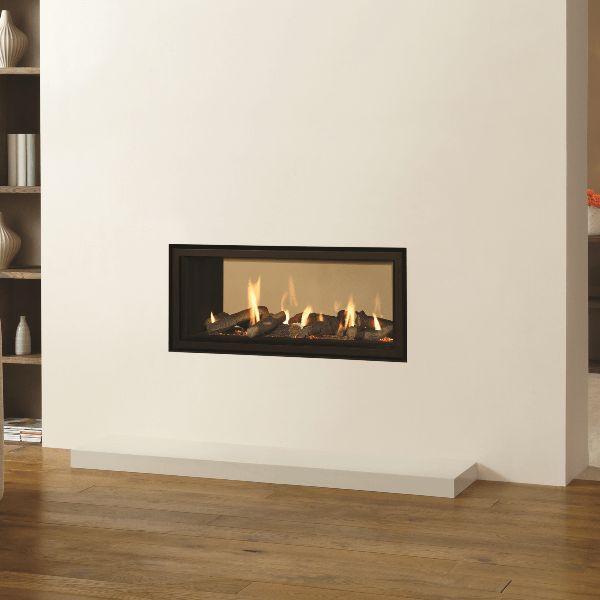 Gazco Studio Duplex Duble-sided gas fire